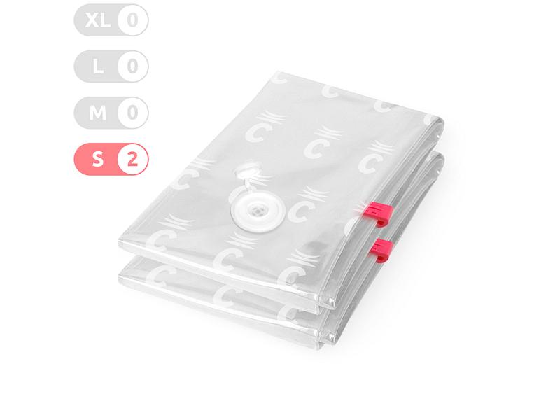 Housse de rangement COMPACTOR transparent 40x60x1cm