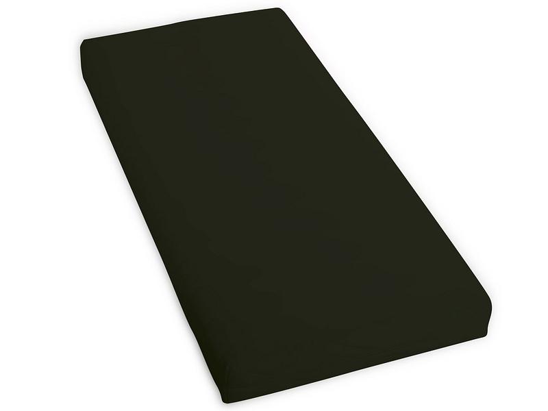 Drap-housse SATIN LOTUS 180x200cm noir