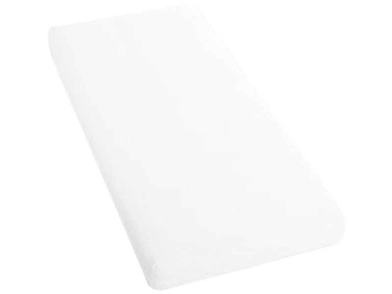 Drap-housse SATIN LOTUS 180x200cm blanc