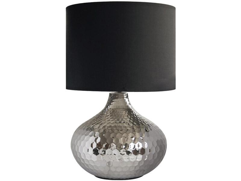 Lampe à poser LED 28.2cm 42cm 60W argenté