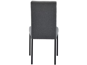 Chaise NANDA tissu gris