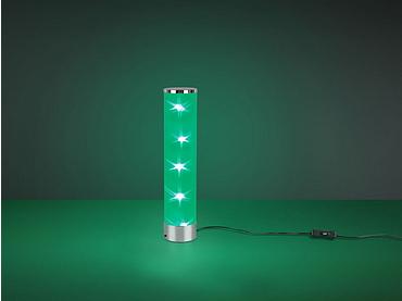 Lampe à poser 8.3cm 38cm chrome