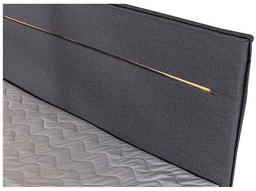 Boxspring CRANS MONTANA 180x200cm anthracite