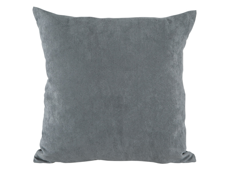 Coussin MILANO 40x40cm gris uni