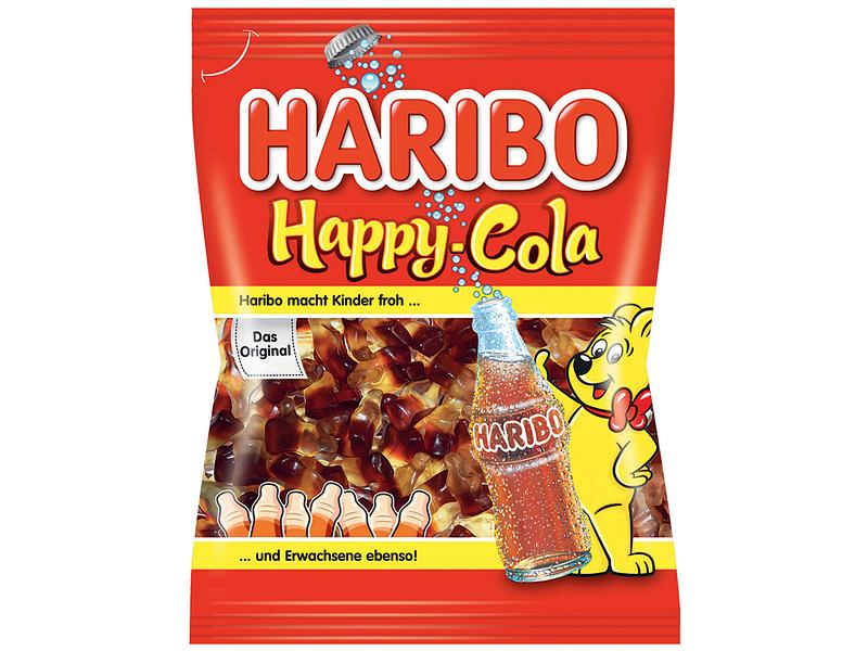 Happy Cola HARIBO rot
