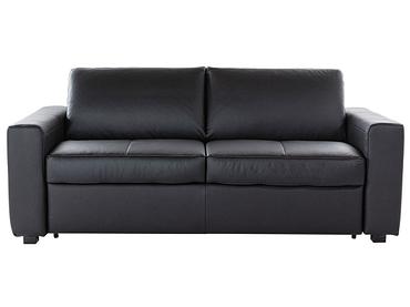 Banquette-lit ENZO noir 202x102x86cm