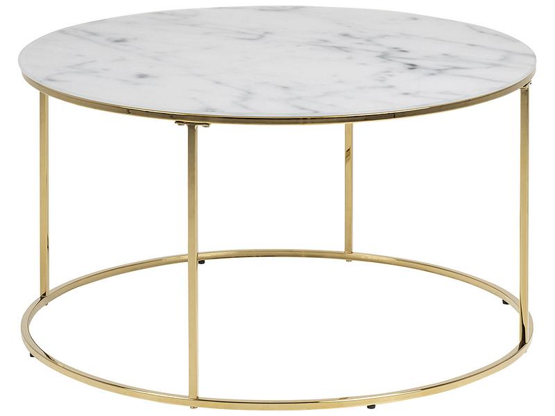 Table basse BOLTON blanc