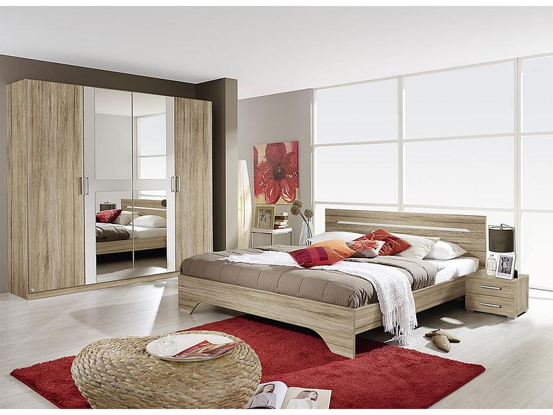 Set chambre à coucher RUBI II 180x200