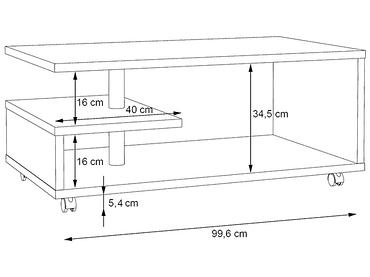 Table basse MATT béton