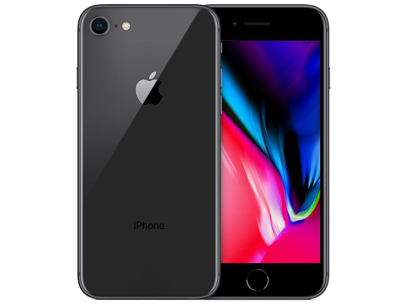 Smartphone reconditionné APPLE REMADE IPHONE 8 SILVER 64GB gris foncé