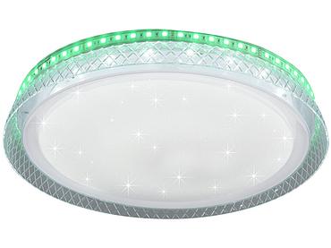 Plafonnier LED multicolore intensité variable THEA 38cm 18W blanc
