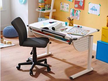 Chaise de bureau enfant ANITA gris