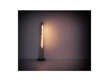 Stehlampe dimmbar DANSY 23cm 151cm 15W schwarz