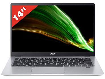 Notebook ACER NB swift 1 SF114-34-P39J 14'' Intel Pentium Silver N6000 256GB