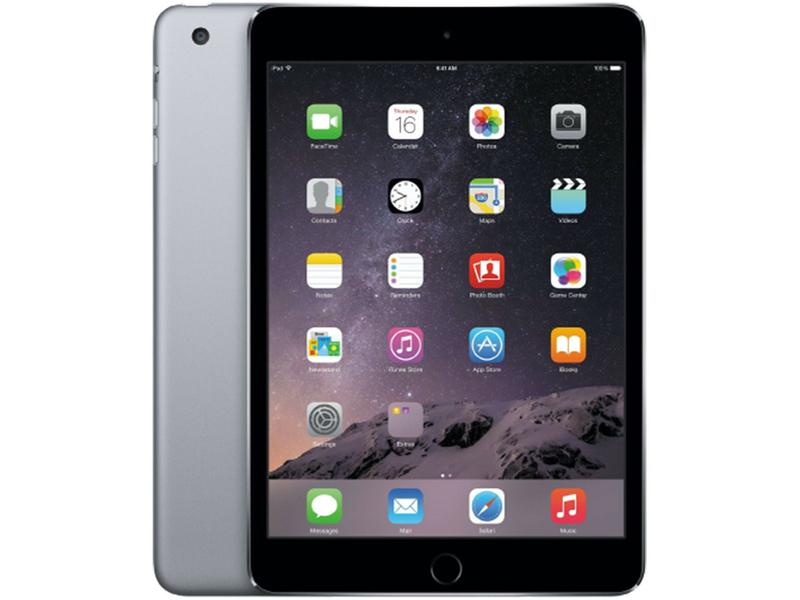 Tablet Zurückgesetzt APPLE ipad Mini 3 Wifi 7.9''/20cm 64GB Grau