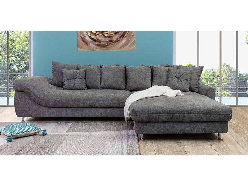 Canapé d'angle MINTY gris