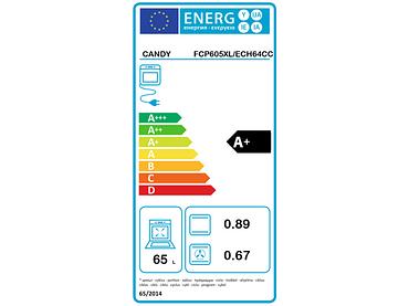 Einbauofen CANDY 65L - FCP605XL/E