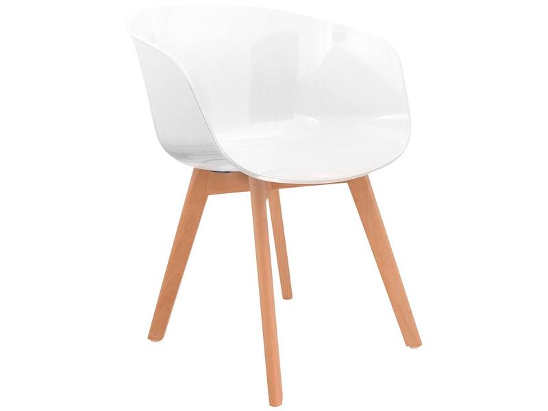 Chaise PETRA blanc