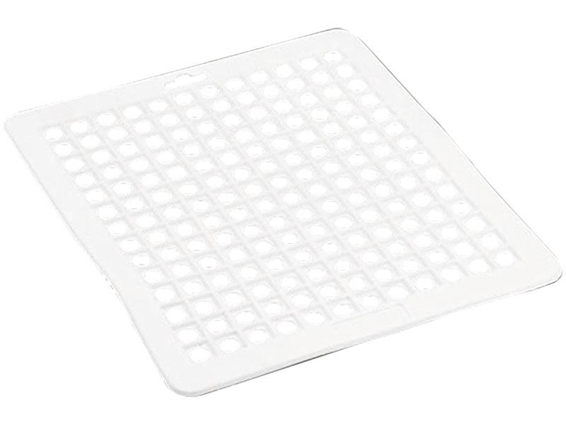 Tapis d'évier plastique blanc