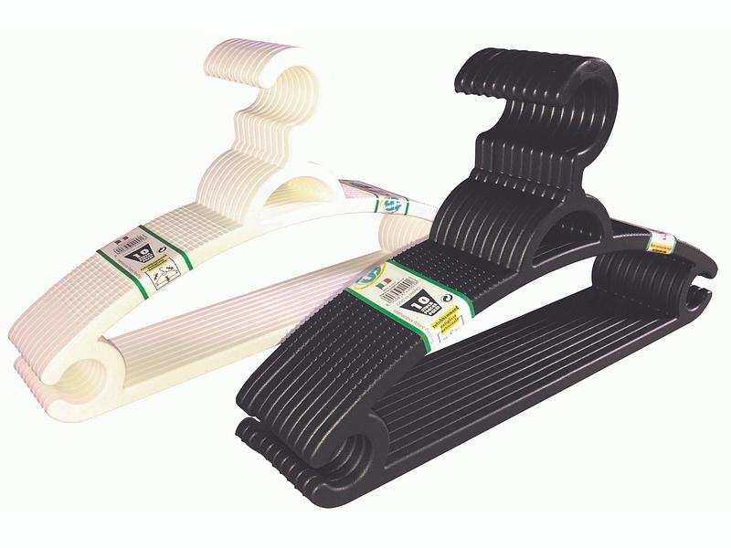 Set 10 cintres WAIST multicolore