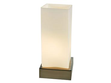 Tischlampe BLOCO 12m 26cm 40W weiss