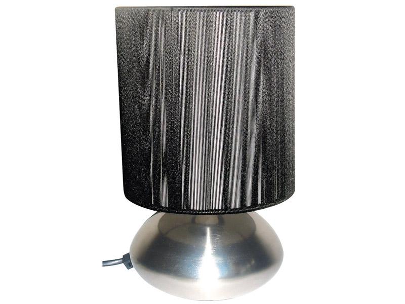 Tischlampe LED TREADY 15.5cm 25cm 25W silberfarben