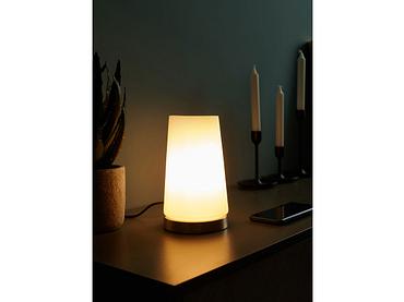 Lampe à poser LED VESUVA 12cm 21cm 40W argenté