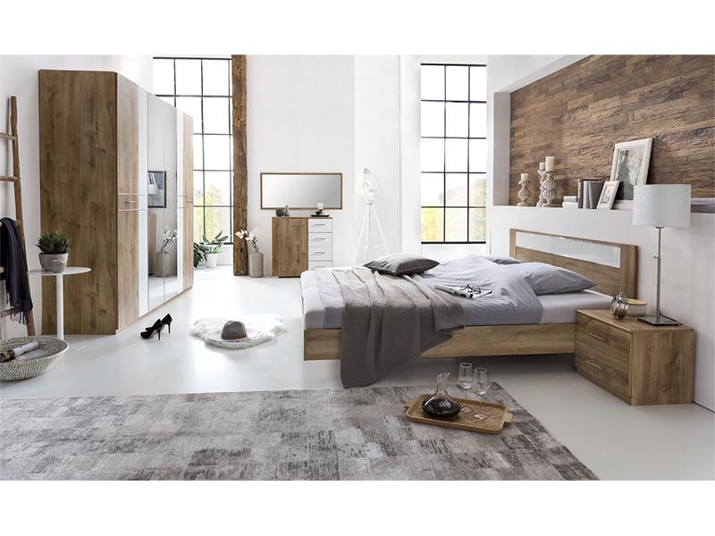 Set chambre à coucher MILA 180x200