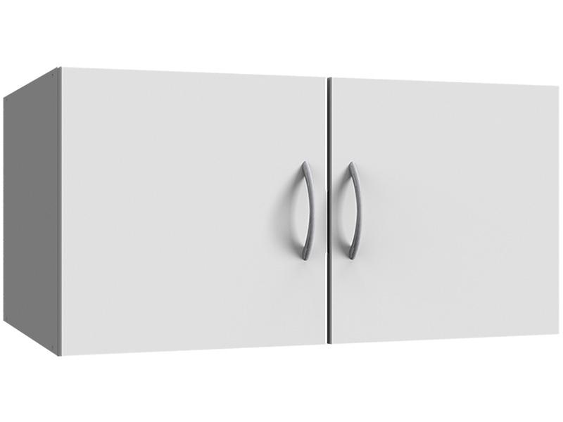 Surmeuble MODUL 2 portes battantes blanc