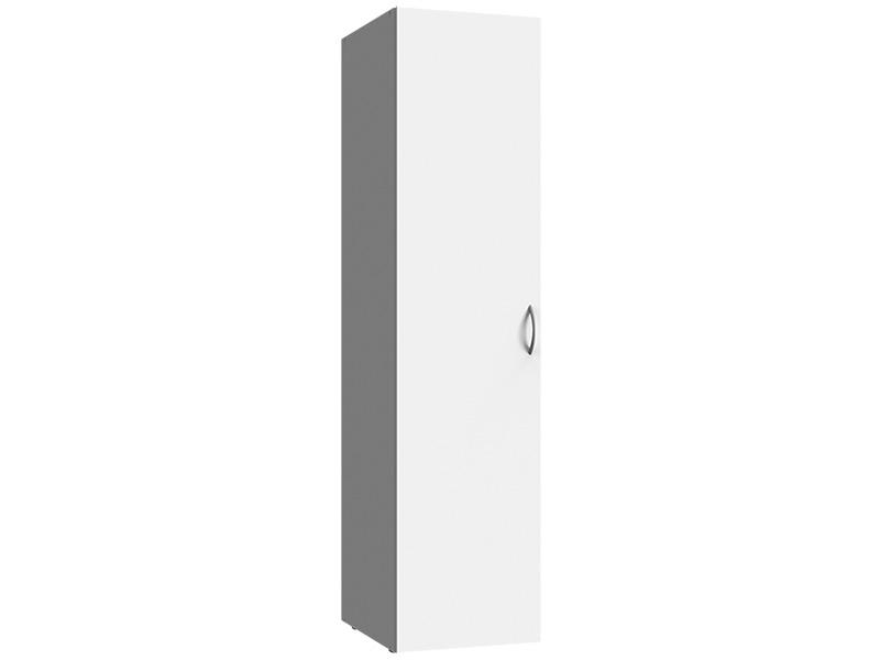 Armoire MODUL 1 porte battante blanc