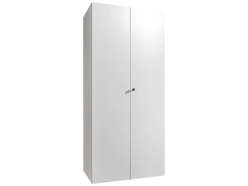 Armoire MODUL 2 portes battantes blanc