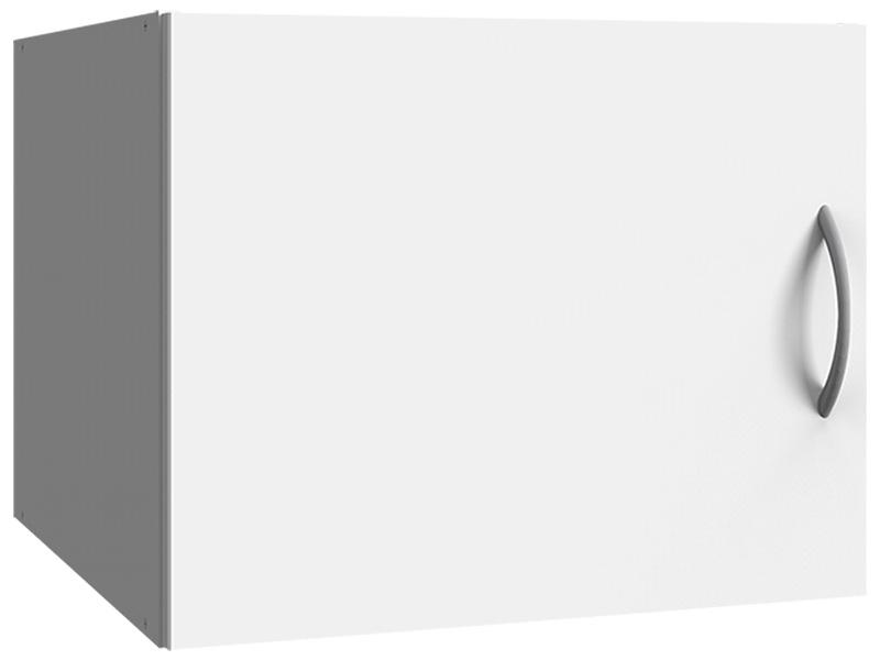 Surmeuble MODUL 1 porte battante blanc