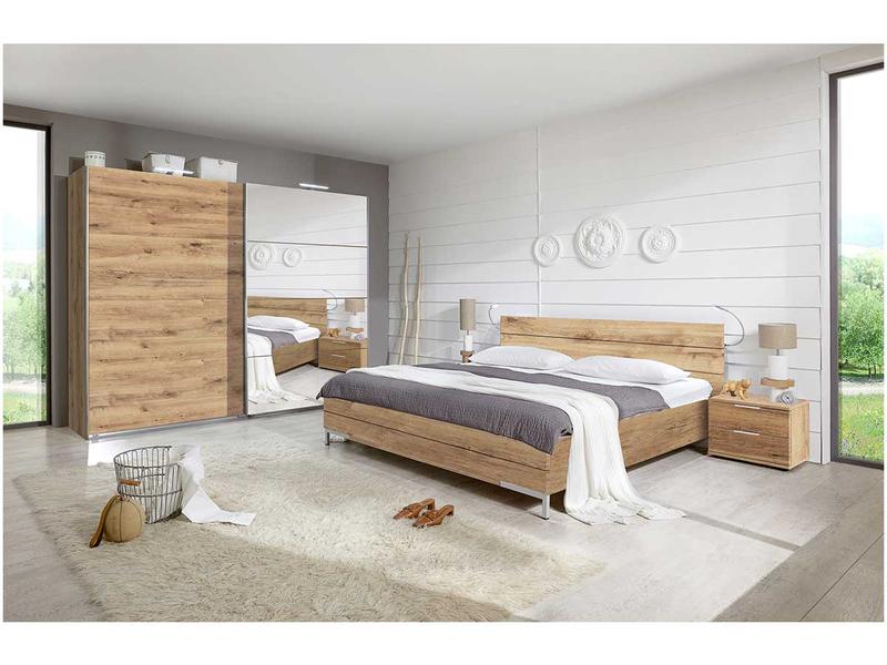Set chambre à coucher LONDON 180x200