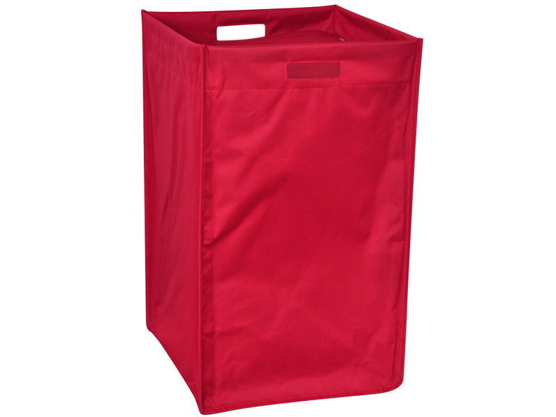 Panier à linge BILL rouge