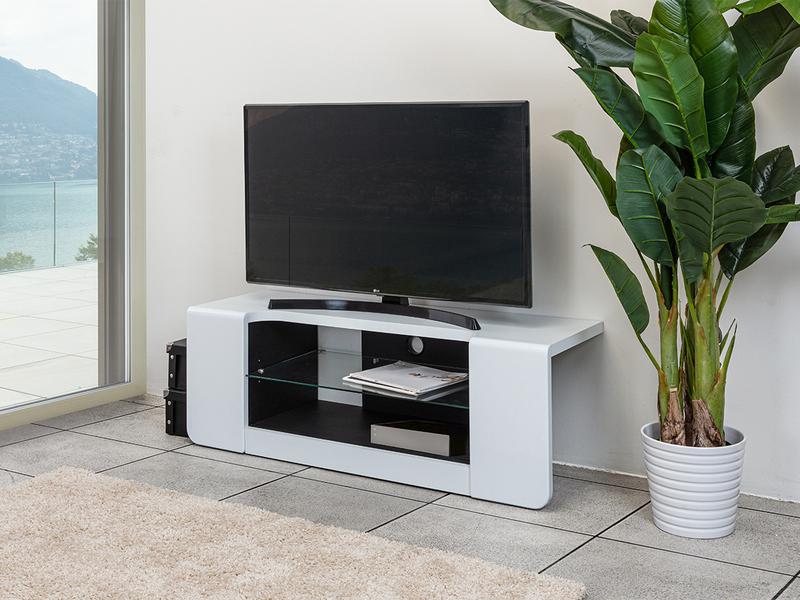 Meuble TV KATIE blanc