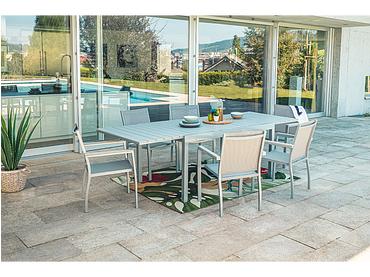 Table de jardin RIVIERA 100x260x74cm