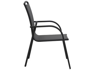Chaise de jardin SANTA FE aluminium anthracite