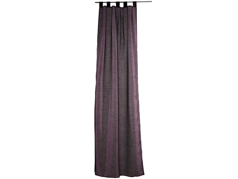 Voilage BYZANCE 110x240cm polyester violet