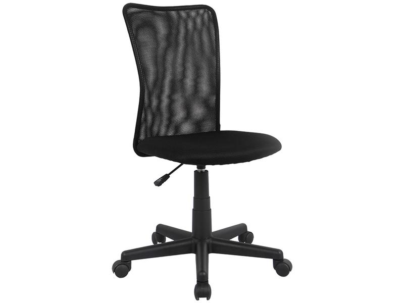 Chaise de bureau enfant ALANNA noir