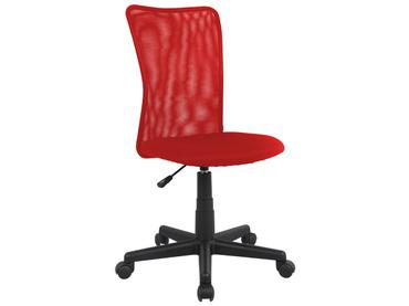 Chaise de bureau enfant ALANNA rouge