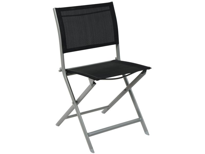 Chaise de jardin COLOR aluminium anthracite