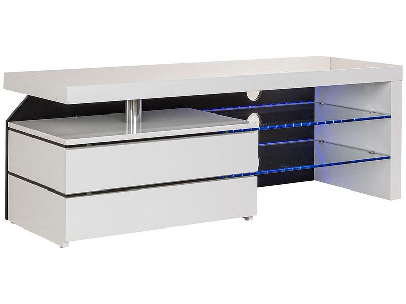 Meuble TV MARLON blanc