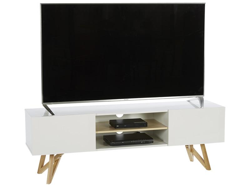 Meuble TV SVEN blanc