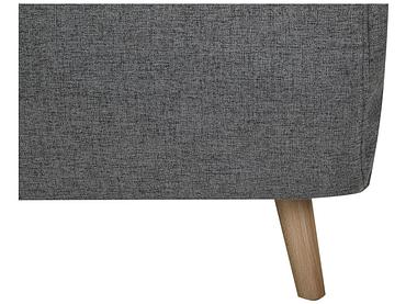 Banquette-lit NEILS tissu gris foncé 90x101x81cm