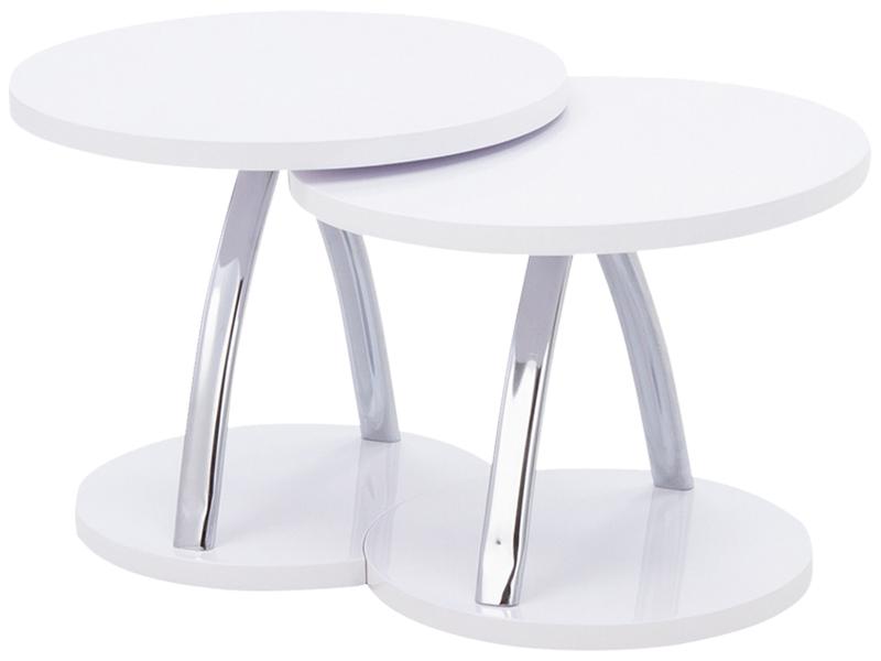Table basse TWICE blanc