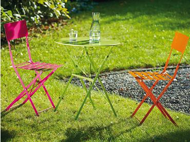 Table de jardin BARCELONA 60x60x70cm