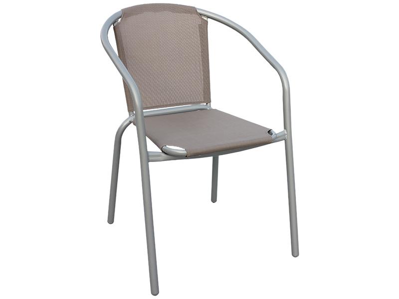 Chaise de jardin POP taupe