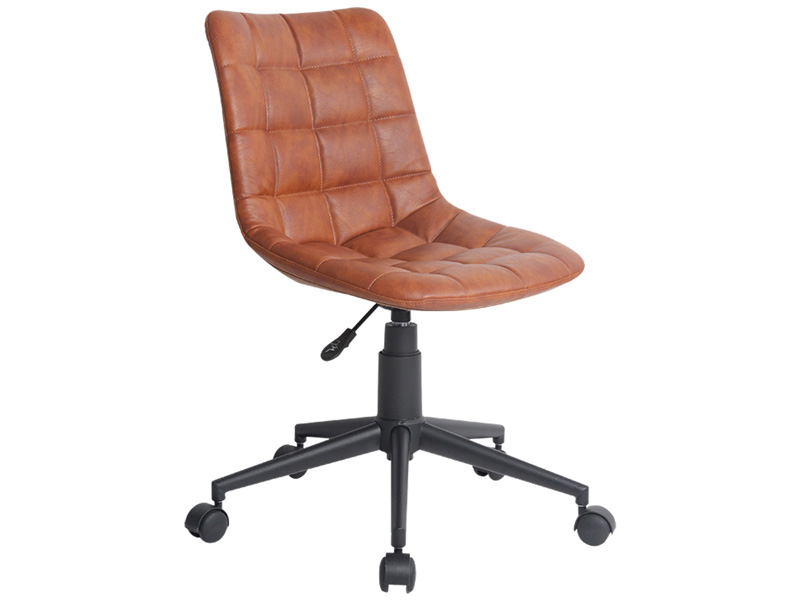 Chaise de bureau OXFORD brun