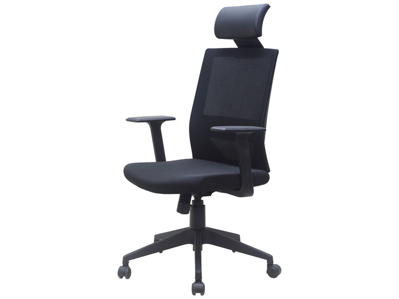 Chaise de bureau CLASSY noir