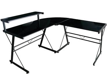 Bureau d'angle CORNER II noir